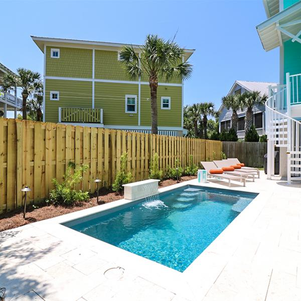 oceanfront cottages pool