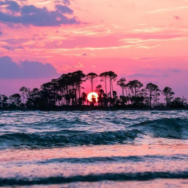 little tybee island sunset ugc