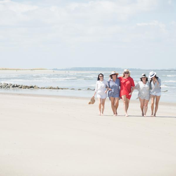 tybee island beach girl trip girlfriends
