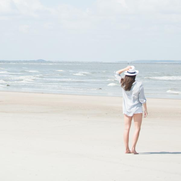 solo beach travel tybee