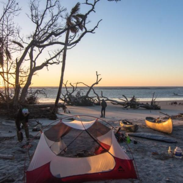 little tybee island camping