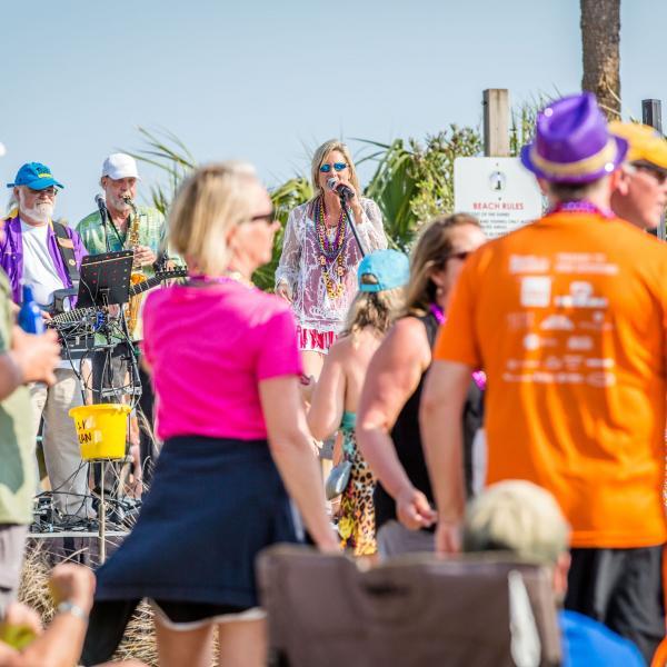 Pier Music Mardi Gras Festival