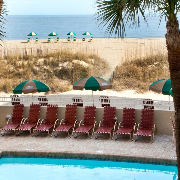 Desoto Beach Hotel Pool