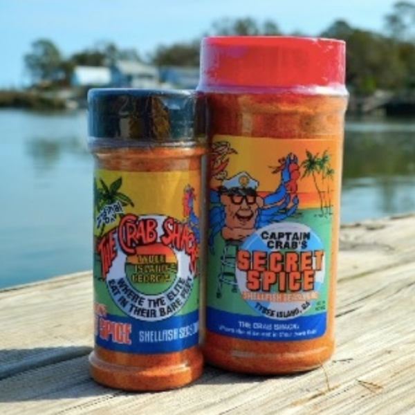 Seasoning from The Crab Shack.