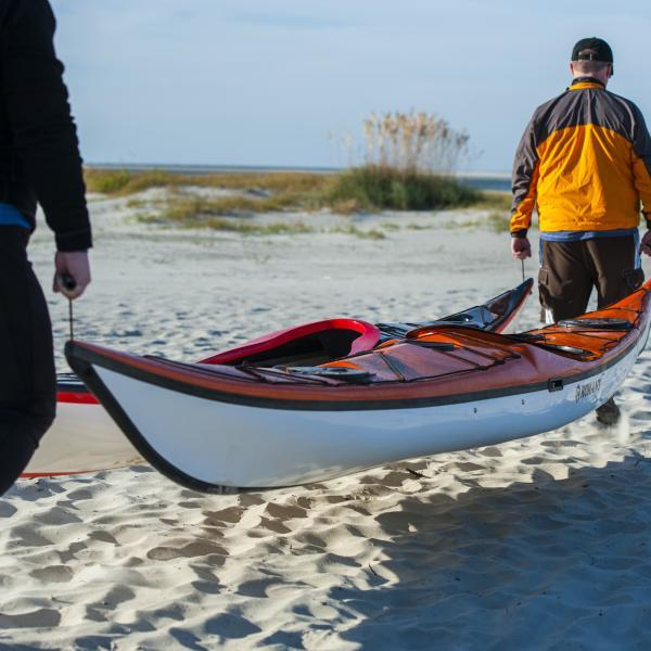 sea kayak tybee island