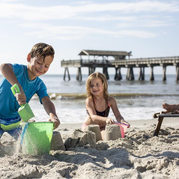 Tybee Island Beach Pier Family Kids