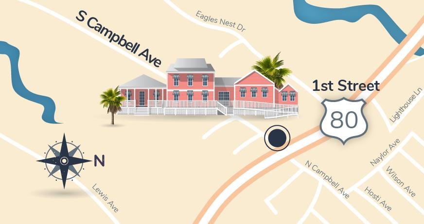 Tybee Map