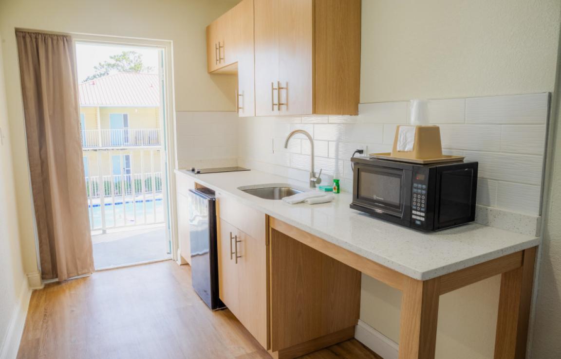 Front Building Kitchenette Suite