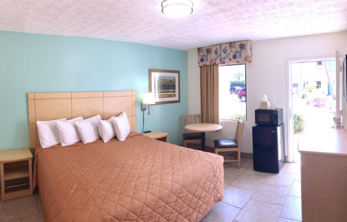 Basic King Room - Our smaller room with a King size bed in our Annex Building