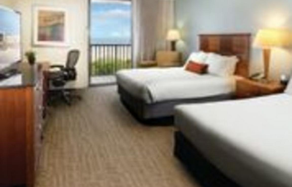 Two Queen Ocean View Guestroom