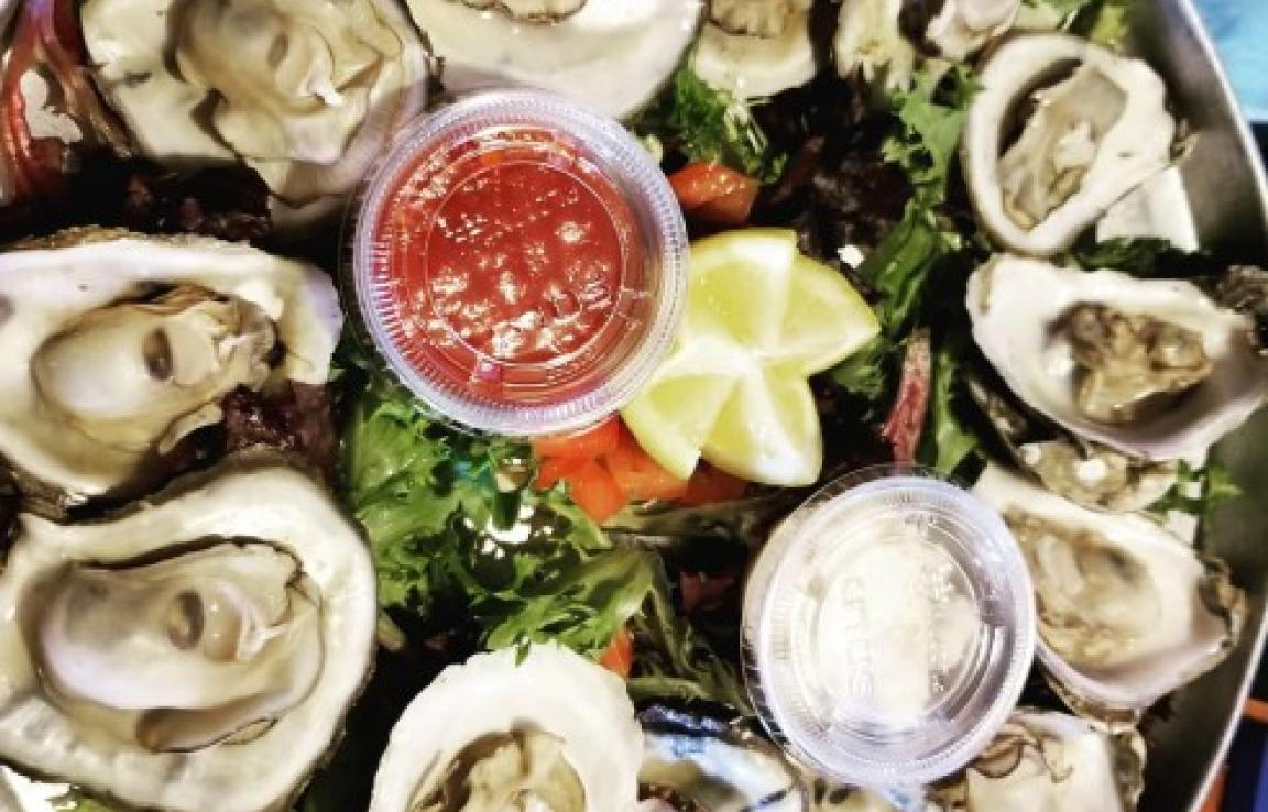 Bernie's Steamed Oysters - The star of the show at Bernie's is Oysters!
