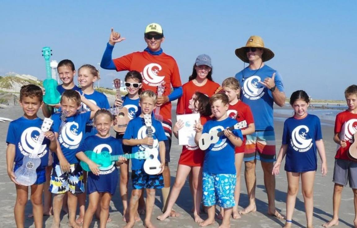 Uke N Surf Kids Summer Camp