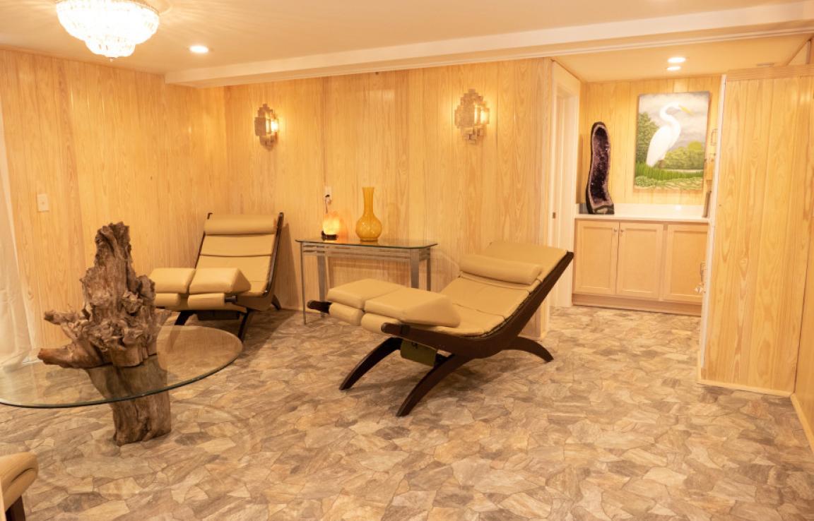 Salt Spa Relaxation Area
