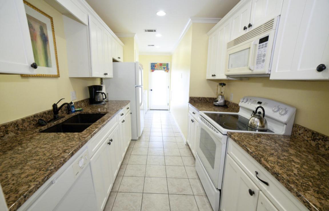 Bungalow's kitchen